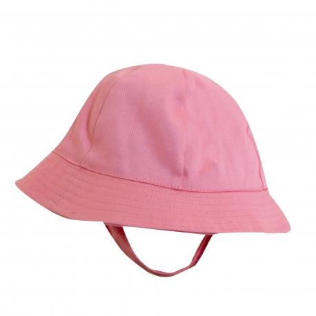 Chapeau de soleil pour bébé anti uv - Rose