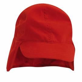 Chapeau anti UV pour Bébé - Rouge