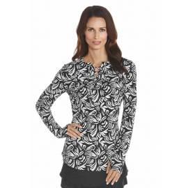 Coolibar - Tshirt anti UV Femmes - Noir et Blanc