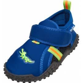 Playshoes - Chaussures de Natation pour enfants Crocodile - Bleu / Vert
