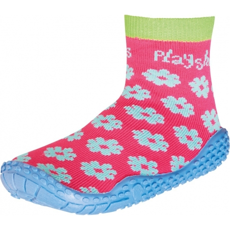 Playshoes - Chausettes de Bain anti uv - Rose / Bleu