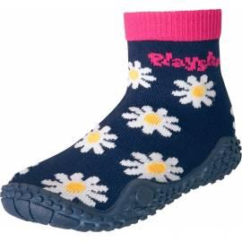 Playshoes - Chausettes de Bain anti uv - Bleu Marine / Rose