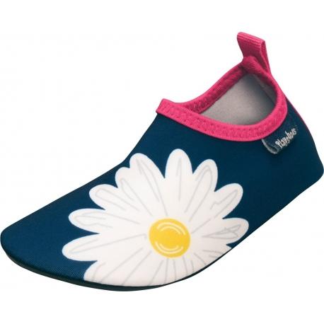 Playshoes - Chaussures de Bain Antu UV pour Enfants - Bleu Marine / Rose