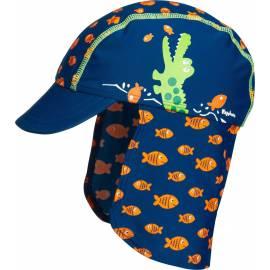 Playshoes - Chapeau de soleil pour Bébés anti UV Crocodile - Bleu