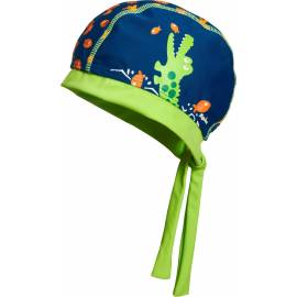Playshoes - Bandana de Bain anti UV Crocodile - Bleu / Vert