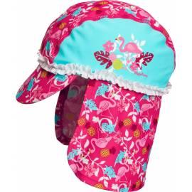 Playshoes - Chapeau de soleil Flament Rose - Bleu Ciel/Rose
