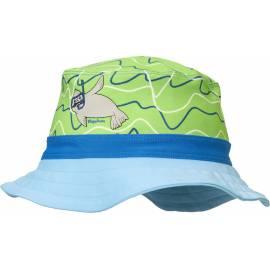 Playshoes - Chapeau de soleil anti uv pour filles et farçons - Bleu/Vert