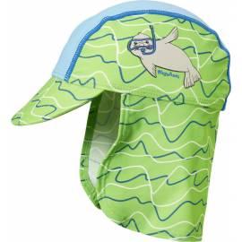 Playshoes - Chapeau de soleil anti uv avec protège nuque pour enfants - Bleu/Vert