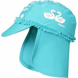Playshoes - Chapeau de soleil enfant Cygnes, Bleu ciel