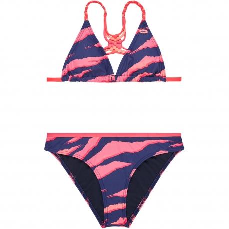 O'Neill - Bikini pour Filles - Rose/Bleu