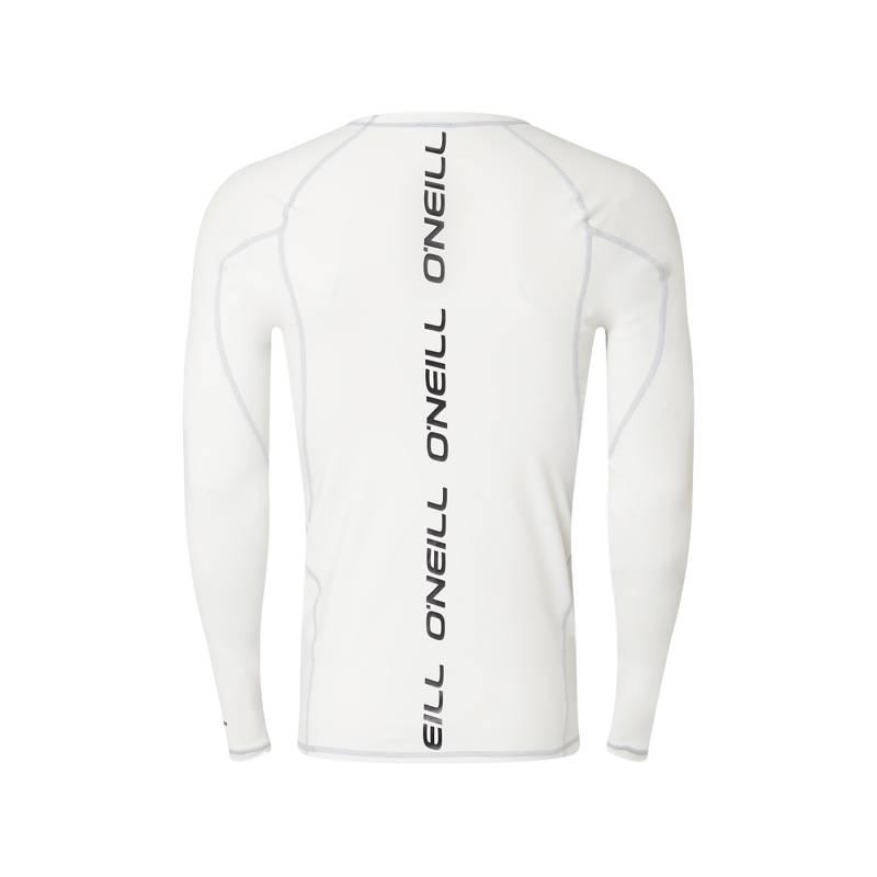 O'Neill, T shirt Homme Anti uv Manches Longues , Blanc