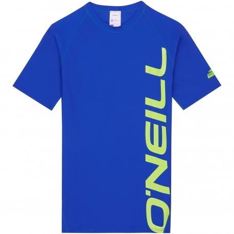 O'Neill - Chemise Manches Courte pour garçons Anti UV - Bleue
