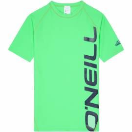 O'Neill - Chemise Manches Courte pour garçons Anti UV - Verte