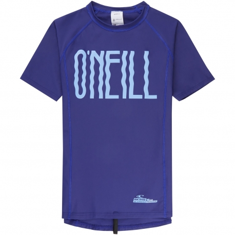 O'Neill - T-shirt Manches Courtes Filles anti UV - Bleu
