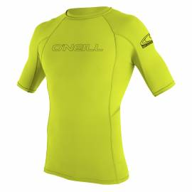 O'Neill - Chemise Homme Anti UV - Manches Courtes - Citron
