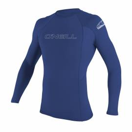O'Neill - Tee Shirt Homme Anti UV - Manches Longues - Bleu Pacifique