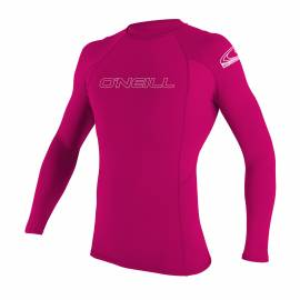 O'Neill - Tshirt Anti UV Enfants - Manches Longues Performance Fit -Rose