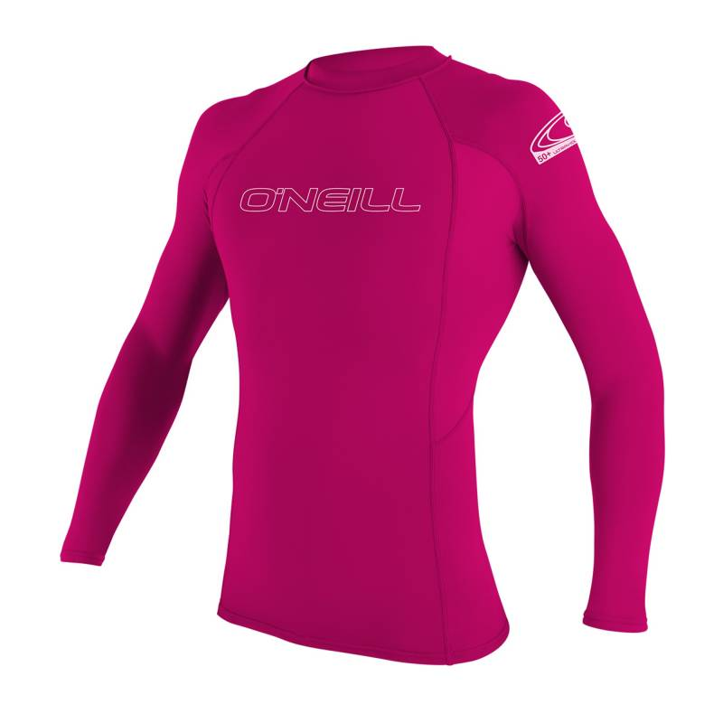 4182eb55fcad1 O Neill - Tshirt Anti UV Enfants - Manches Longues Performance Fit -Rose. Loading  zoom