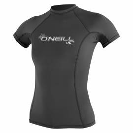 O'Neill - T-shirt Femme Anti UV - Manches Courtes - Performance Fit - Gris