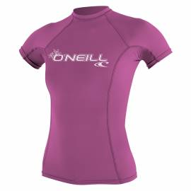 O'Neill - T-shirt Femme Anti UV - Manches Courtes - Performance Fit - Rose