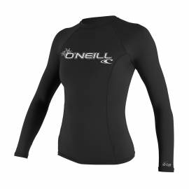 O'Neill - T-shirt Femme Anti UV - Manches Longues - Performance Fit - Noir