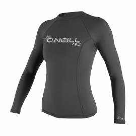 O'Neill - T-shirt Femme Anti UV - Manches Longues - Performance Fit - Graphite