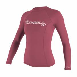 O'Neill - T-shirt Femme Anti UV - Manches Longues - Performance Fit - Rose