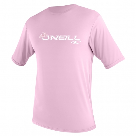 O'Neill - Chemise Anti UV Enfants Manches Courtes - Rose