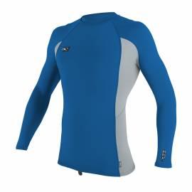 O'Neill - Tshirt Premium Homme Anti UV- Manches Longues - Bleu / Gris