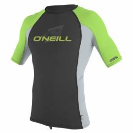 O'Neill -T-shirt anti UV Enfant Manches Courtes Performance Fit, gris foncé