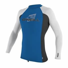 Tee Shirt pour enfant Manches Longues Performance Fit, bleu