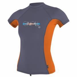O'Neill - Tee shirt anti UV Filles Performance Fit - Papaye