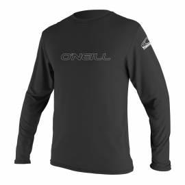O'Neill - Tee shirt anti Uv Homme Manches Longues- Noir