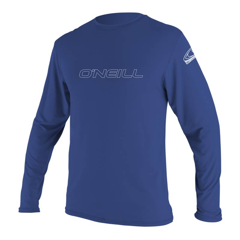 O'Neill Tee shirt anti Uv Homme Manches Longues Bleu Pacifique
