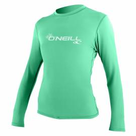 O'Neill - Tee shirt Anti UV Femme manches longues Slim Fit - Seaglass