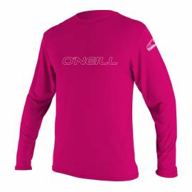 O'Neill - Tee shirt anti UV pour Enfant - Slim Fit - Rose