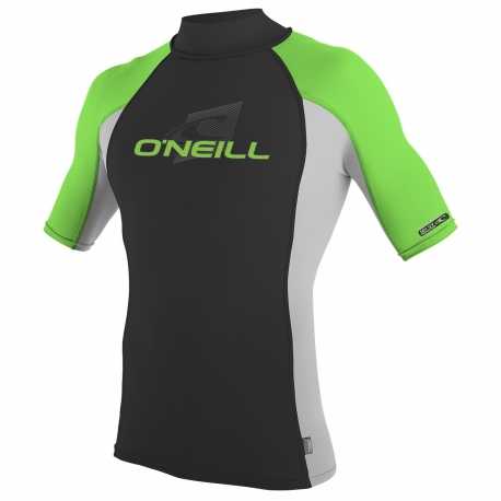 O'Neill - Tee shirt Anti Uv pour Enfants manches courtes Performance Fit - Multicolor