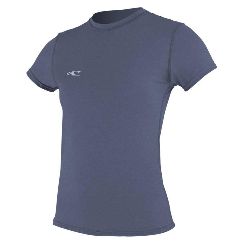 2744d2336 O'Neill - Tshirt anti Uv Femme Hybrid manches courtes Slim Fit - Mist
