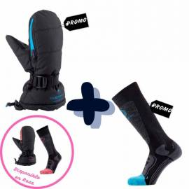 PACK MOUFLES + CHAUSSETTES + CHAUFFERETTES ADULTE Therm-ic