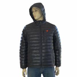 Heated men's jacket, size