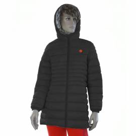 Heated women's jacket