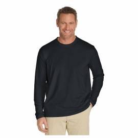 T-shirt de plage anti-UV pour hommes Noir , Coolibar
