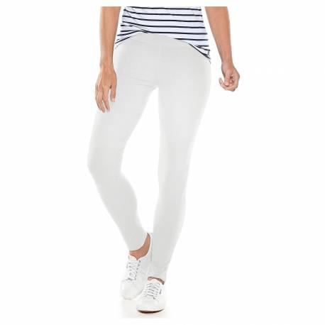 Legging anti-UV pour femmes Blanc, Coolibar