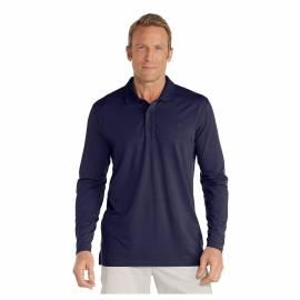 T-shirt de plage anti-UV pour hommes Bleu , Coolibar
