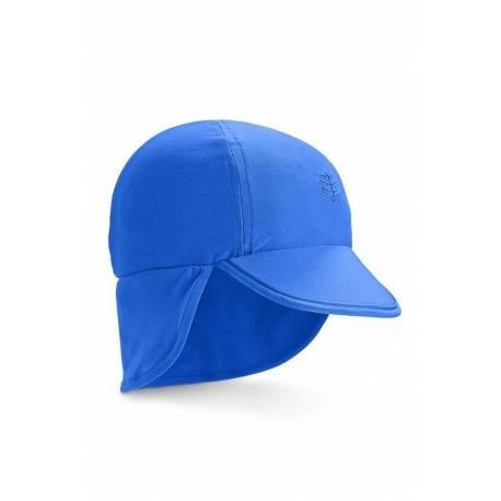 Casquette de soleil anti-UV pour bébé Bleu , Coolibar
