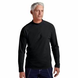 T-shirt de bain anti-UV pour hommes Noir, Coolibar