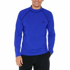 T-shirt de bain anti-UV pour hommes Bleu , Coolibar