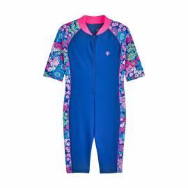 Combinaison de natation anti-UV pour filles Bleu , Coolibar