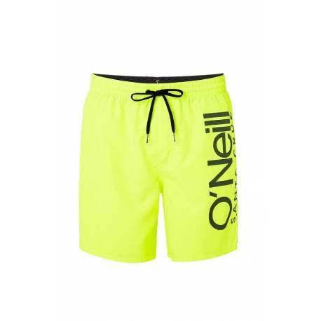 Short de bain pour hommes Original Cali - New Safety Yellow, O'Neill