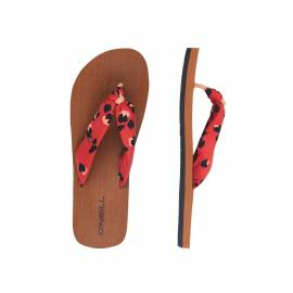 Tongs pour femmes Ditsy Sun Rouge, O'Neill